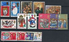 1966-70 UNMOUNTED MINT XMAS ALL THE SETS INCLUDES THE 1966 PHOSPHOR SET