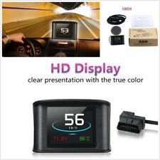 Car Digital OBDII Driving Computer Display Speedometer Coolant Temperature Gauge