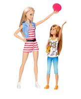 Mattel Barbie Sisters - Barbie & Stacie Dolls - 2 Pack