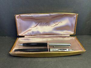 Parker 51 Case, Parker Pen and Mechanical Pencil