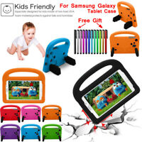 For Samsung Galaxy Tab Case 7 8.0 Kids Children Shockproof EVA Foam Cover Stand