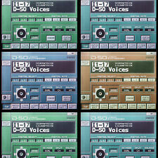 Roland D50 D550 D-05 Patch collections  Largest and rarest on the web - Download