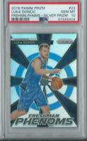 PSA 10 RC Luka Doncic 2018-19 Panini Prizm Emergent SILVER PRIZM #3 Rookie