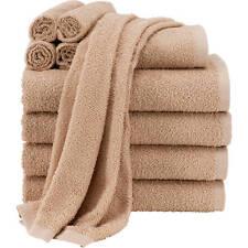 Bathroom Towel Set Of 10 Beige : 4Bath 2Hand Towels 4Wash Cloths 100% Cotton