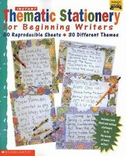 Instant Thematic Stationery for Beginning Writers : 60 Reproducible Sheets -...