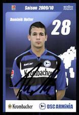 Dominik Rotter Autogrammkarte Arminia Bielefeld 2009-10 Original + A 93461