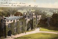 WARWICK CASTLE From Guy's Tower - 1907 - Original Postcard (50-12)