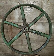 "Flat Belt Pulley for Hit-Miss Engine Tractor Steam Engine Antique Steampunk 14"""