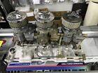 Edelbrock 5419 C-357-B Triple-Duece Intake 262-400 SB Chevy V8 W/ Tripower Carbs