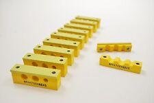 "Hydraulic pipe clamp - 2x 10mm & 1x 6mm ( 3/8"" & 1/4"" )  Pk.10 Brake Fuel Line"