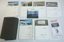 2009 LEXUS IS 350 / IS 250 OWNERS MANUAL GUIDE BOOK SET WITH CASE OEM