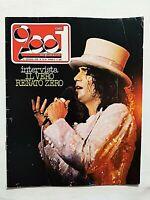 CIAO 2001 33/34-1978 RENATO ZERO-SEX PISTOLS-JOHN TRAVOLTA-BOB DYLAN-KATE BUSH