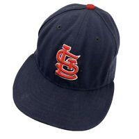 St Louis Cardinals New Era Ball Cap Hat Fitted 7 Baseball Adult
