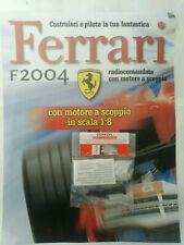 Ferrari Formula 1 F2004 De Agostini Kyosho a Scoppio Ricambio N°91 04091 Nuovo