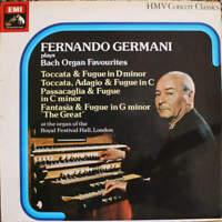 Fernando Germani , Johann Sebastian Bach - Fernando Germani Plays Bach Organ Fav