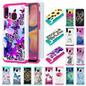 For Samsung Galaxy A10e A20 A30 A50 Hybrid PC Hard Shockproof Phone Case Cover