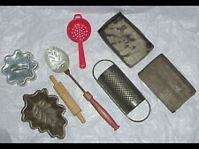 10pc vintage toy Kitchen Tools & Poppin Fresh cookie Cutter