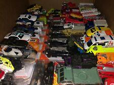 Matchbox Hotwheels Maisto Loose & New Lot Emergency Police Cars & Fire Trucks