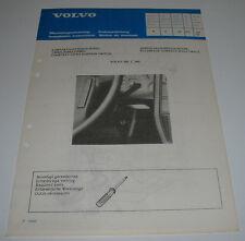 Einbauanleitung Volvo 340 / 360 Zündschlossbeleuchtung Stand Juli 1982!