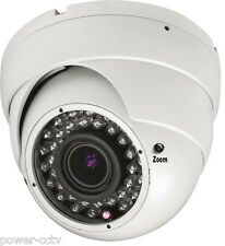 1/3 Sony CMOS 1300TVL 36IR IR CUT 2.8-12mm Varifocal Zoom Dome Security Camera