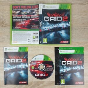Grid 2 ~ Xbox 360(UK PAL) Complete w/Manual & VGC **PLAYABLE ON XBOX ONE**