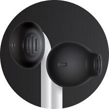 EarSkinz ES2 EarPod Covers - Jet Black - iPhone 7 / 6S / 6 / 5SE / 5S / 5C / 5