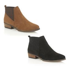 British Designed Dolcis Ladies Janet Chelsea Dealer Memory Foam Ankle Boots