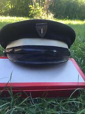 casquette de gardien de la paix contractuel année 70
