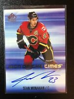 2015-16 SP Authentic Sean Monahan Sign Of The Times Auto Calgary Flames