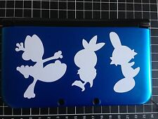 √ 1x POKEMON OMEGA RUBY ALPHA SAPPHIRE STARTERS DECAL FOR 3DS XL GAME CONSOLE √