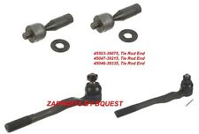 TOYOTA 4 RUNNER TIE ROD SET  1996-2002  2.7L ,3.4L V6