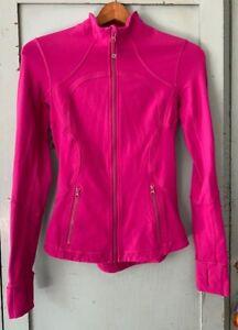 Lululemon hot pink define jacket 4 free shipping