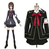 Vampire Knight Yuki Cross Kuran Halloween COSplay Costume Uniform Outfit Dress