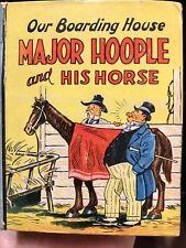 Vintage Original Big Little Book Major Hoople & His Horse 1190