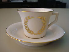 Devonshire Vintage Fine Porcelain Hand Painted Demitasse Cup and Saucer