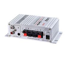 Lepy Auto Moto MP3 MP4 Hi-Fi Audio Stereo Mini Amplifier 12V 2A G4Y4