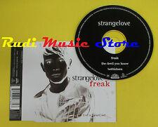 CD Singolo STRANGELOVE Freak part 2 of 2 part set 1997 uk no lp mc dvd (S15)