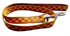 Hundeleine braun beige xL1m 25mm breit Nylon Hunde Leine mit Handschlaufe Karlie