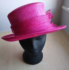 Ladies Wedding hat : PINK
