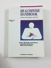 Healthwise Handbook : Self-Care Manual for You - Donald Kemper (1997, Paperback)