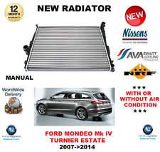 FOR FORD MONDEO TURNIER RADIATOR 2007-2014 MANUAL 1.6 1.8 2.0 2.2 2.5 OE QUALITY