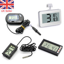 Digital LCD Thermometer Fridge Temperature Meter for Refrigerator Freezer Home