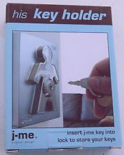 J-Me His Key Hanging Holders Stainless Steel Wedding Gift Couple Anniversary