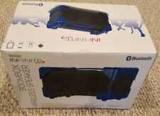 New Vivitar Infinite Boombox Bluetooth Wireless Speaker V143 Bt Blue