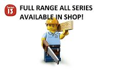 Lego minifigures carpenter series 13 (71008) unopened new factory sealed
