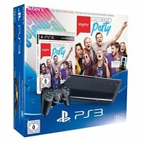 Sony Playstation 3 / PS3 SUPER SLIM 12 GB - NEU & OVP - Bundle Ultimate Singstar