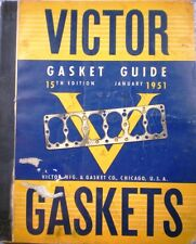 VICTOR GASKET GUIDE ASBESTOS Dana Holding Corp 1951