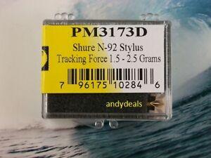 Shure  N92E generic stylus (for Shure M92E cartridge)  PM3173D