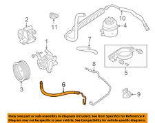 JAGUAR OEM 98-03 XJ8-Power Steering Pressure Hose MNC3985AH