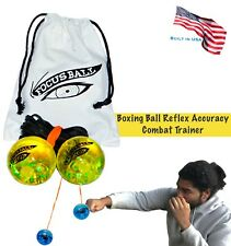 The Focus Ball Boxing ball reflex, accuracy, strike combat trainer